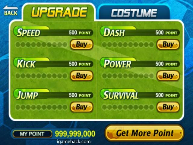 Trucchi Head Soccer iPhone versione 3.2 punti infiniti