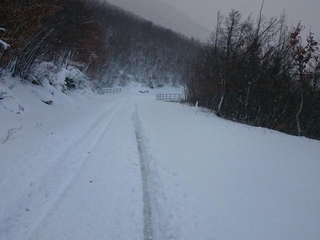 Meteo, 'pericolo' neve | Piano d'emergenza approvato dal Comune di Giove