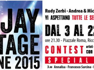 Deejay on Stage: scaletta e calendario concerti