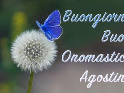 Onomastico Agostino: frasi di auguri e significato del nome Agostino