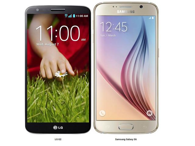 Comprare LG G2 o Galaxy S6 di Samsung?