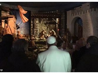 Papa Francesco a Greccio: riscoprire Gesù nei piccoli e negli umili