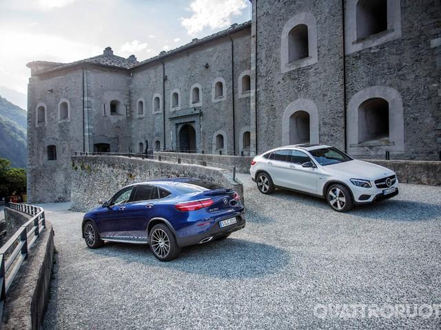 Mercedes-Benz - Al volante della GLC Coupé