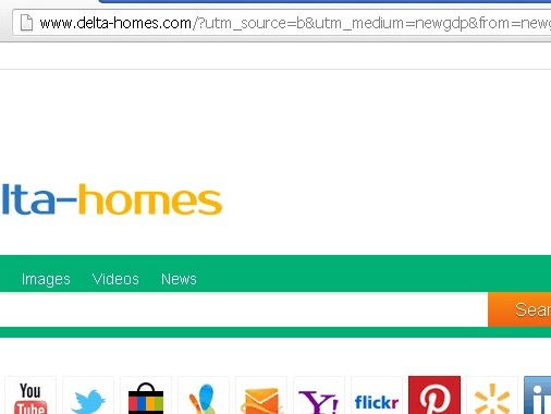 Come eliminare Delta Homes - Mdelta homes da Chrome Firefox, Internet Explorer ed Edge
