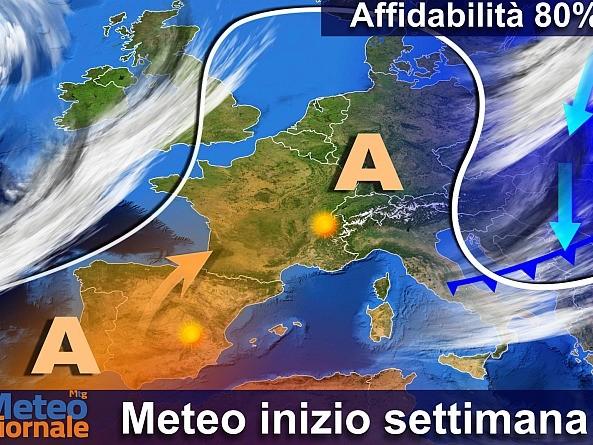Alta Pressione in affanno, prime insidie meteo. Che ne sarà del gelo russo?