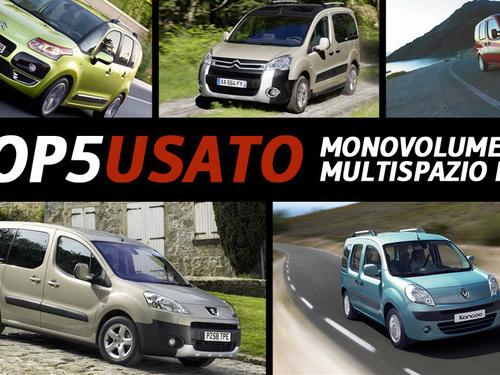 Top Five Usato: monovolume e multispazio turbodiesel, quale scegliere - Motori - Anygator.com