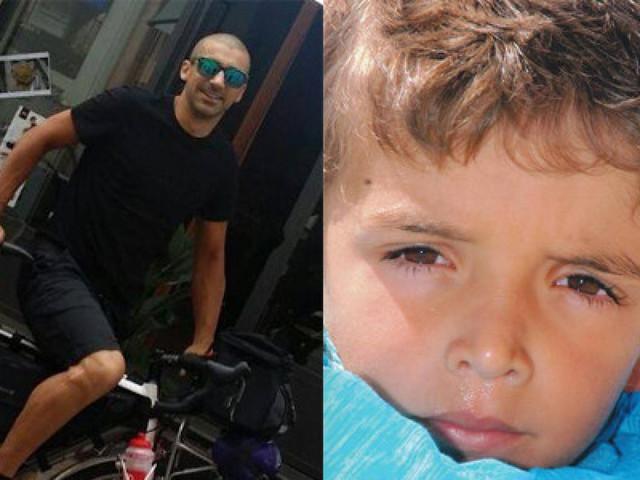 In bici in giro per l'Italia per dire no alla violenza, in ricordo di Federico Barakat ucciso dal padre a 8 anni