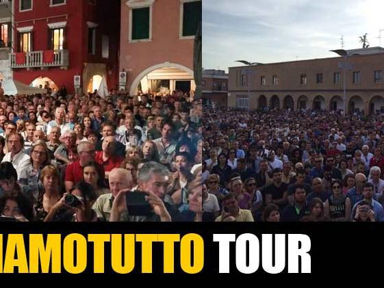 #CambiamoTutto Tour: Pisticci, Ginosa, Noicattaro e Chioggia