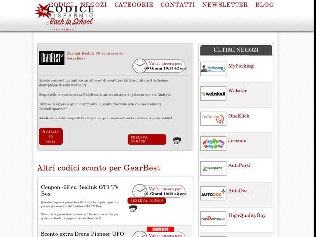 codice promozionale sito nike