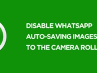 Come smettere di far salvare a WhatsApp Foto e Video su iPhone