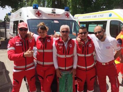La squadra della Croce Rossa Italiana di Pescara si ripete