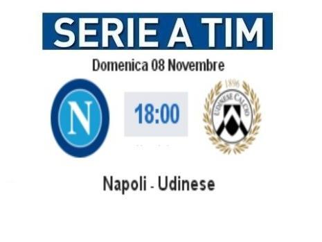 Live Napoli - Udinese: video highlights, gol e cronaca