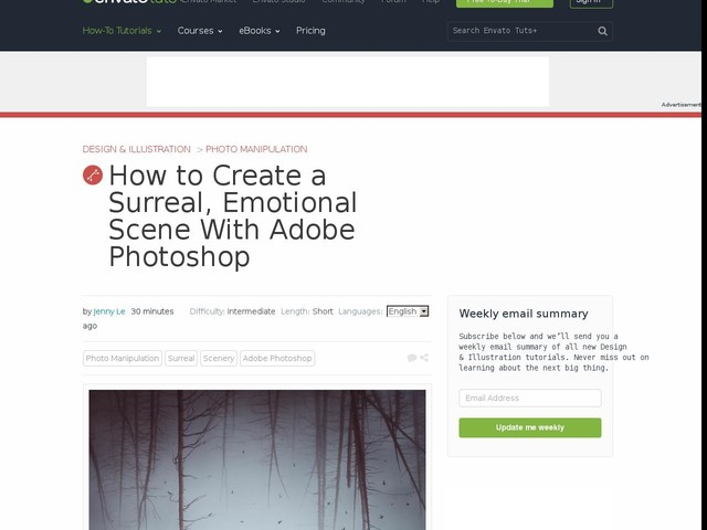 How to Create a Surreal, Emotional Scene With Adobe Photoshop