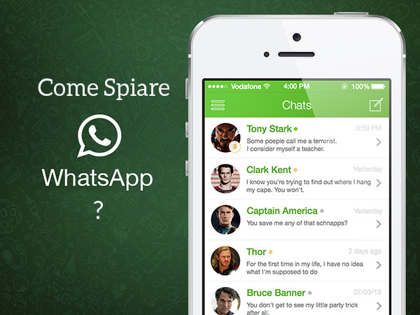 Grazie ad un trucco è possibile spiare i messaggi su WhatsApp