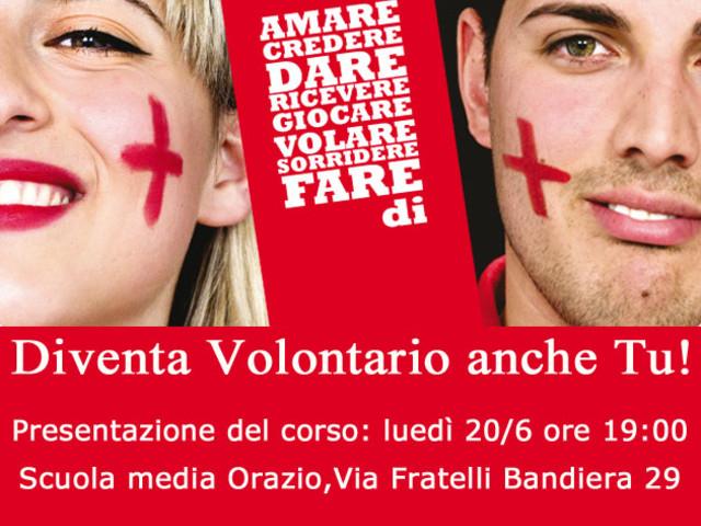 Diventa Volontario di Croce Rossa Italiana – Comitato Locale di Pomezia