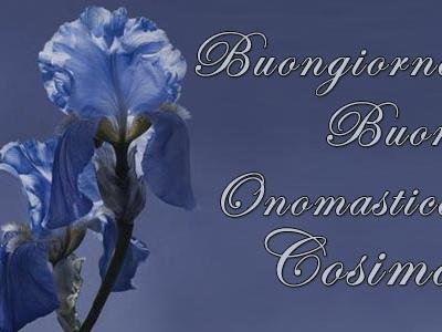 San Cosimo: frasi di buon onomastico e significato del nome Cosimo