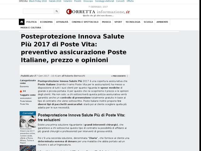 assicurazione caso morte poste italiane