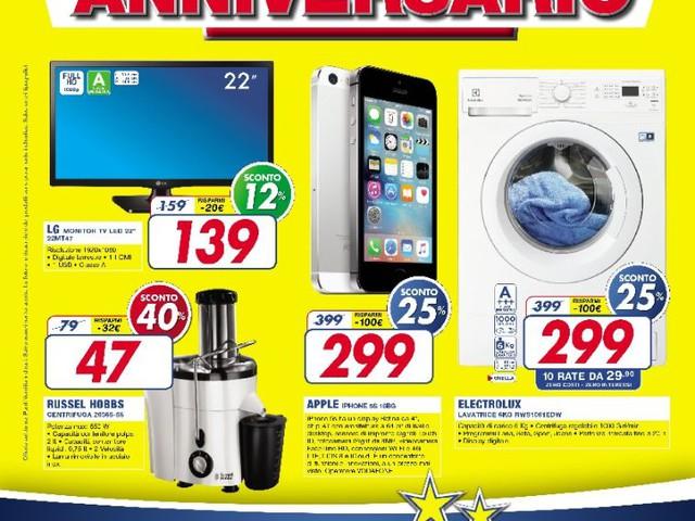iPhone a 299€ per l'anniversario Euronics a Limbiate, ecco il volantino in anteprima assoluta!