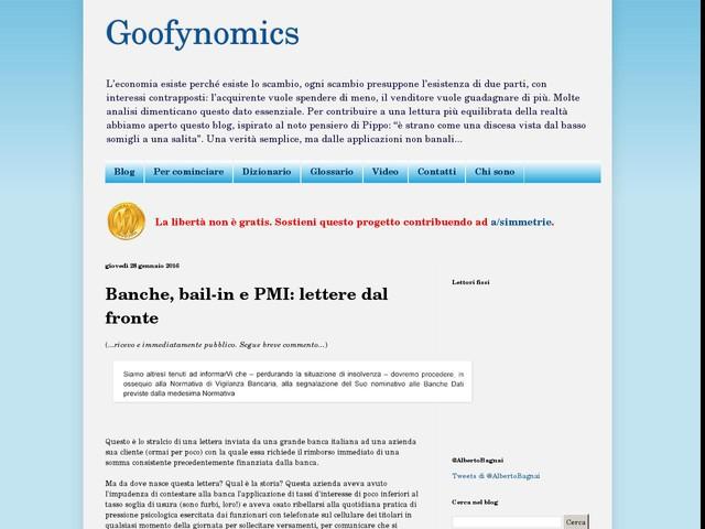 Goofynomics