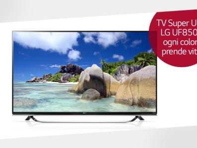 Nuovi TV Super Ultra HD LG UF8507: 5 caratteristiche più importanti