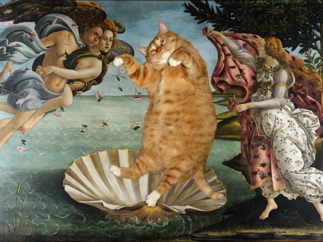C'è un gatto nel capolavoro: l'arte fa miao (FOTO)