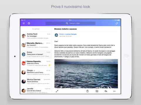 Si aggiorna Yahoo Mail