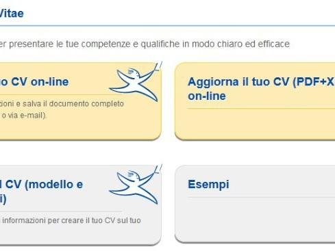 Curriculum vitae formato europeo: modello da compilare e applicazioni per Android e iOS