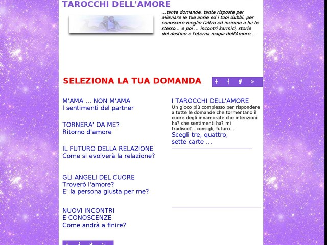 Tarocchi Online Gratis Amore