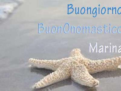 Onomastico Marina: frasi di auguri e significato del nome Marina