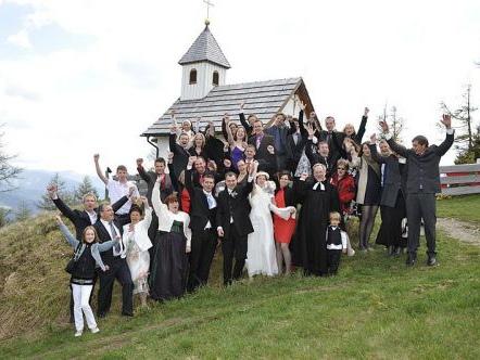 Sposarsi a 1850 metri d'altezza? Nella regione del Katschberg è possibile!