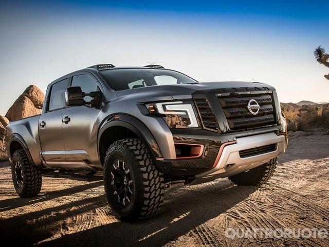 Nissan Titan Warrior - Pick-up estremo per il Salone di Detroit