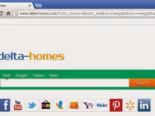 Togliere Delta Homes da Google Chrome, Mozilla Firefox e Internet Explorer
