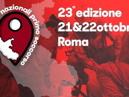 Roma, al via la gara nazionale di primo soccorso: i volontari della croce rossa in campo per salvare vite