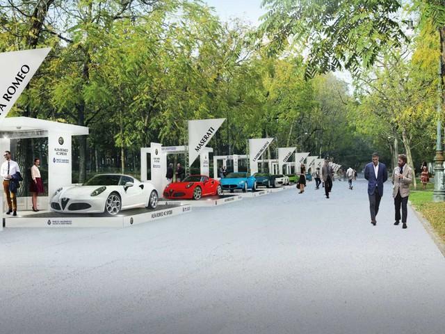 Parco Valentino Salone & Gran Premio - A Torino la festa dell'auto è all'aperto