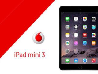 iPad Mini 3 con Vodafone: le offerte Apple iPad Mini 3