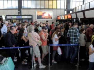 Sciopero, lunedì nero all'aeroporto di Fiumicino