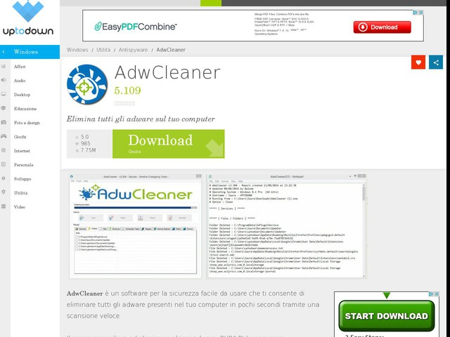 AdwCleaner 5.109 Download #Antispyware #Utilità