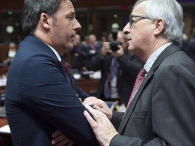 Renzi-Juncker, nuovo affondo da Bruxelles: a Roma manca interlocutore