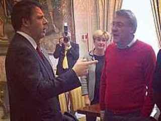 """Camusso """"giu' i manganelli"""" Renzi """"no a speculazioni"""""""