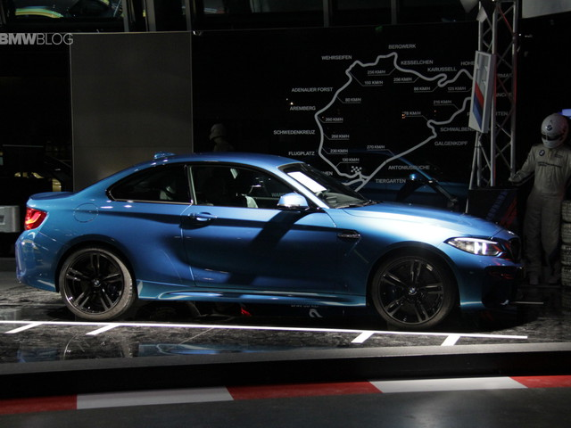 BMW M2 now displayed at the BMW Welt