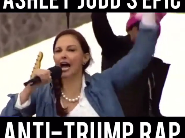 Went Off: Ashley Judd's Anti-Trump Speech Is Drop The Mic Moment Of 2017 [Video]