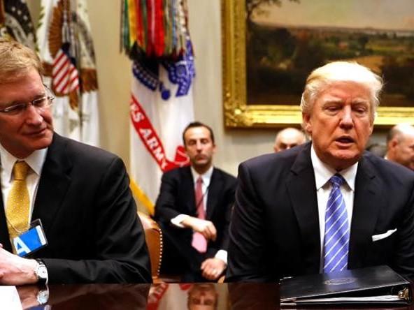 Donald Trumps första vecka på jobbet