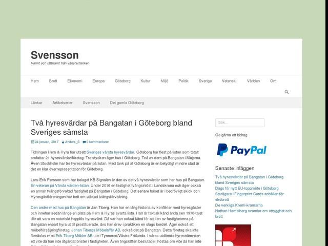 Två hyresvärdar på Bangatan i Göteborg bland Sveriges sämsta