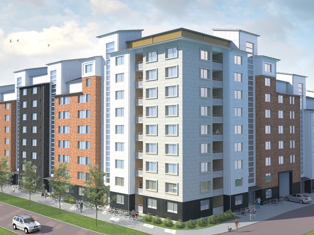 Bostaden bygger 159 lägenheter i Umeå