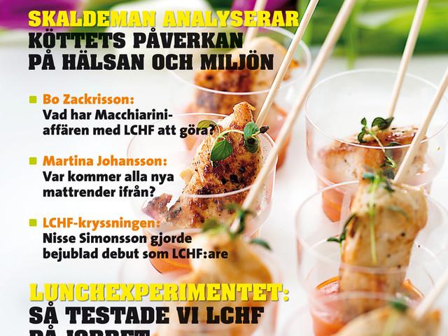 Årets första nummer av LCHF-magasinet är här