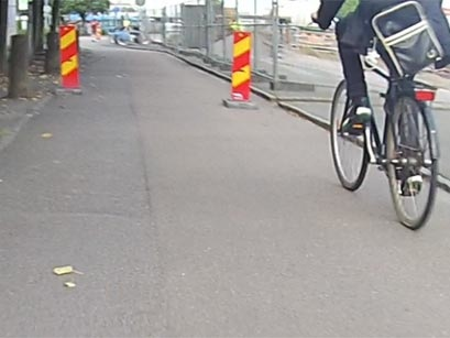 Kruthusgatan igen: Cykeltrafik förbjuden - av misstag?