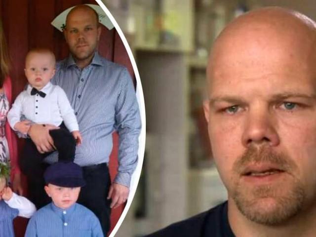 Jimmy lever ensam med tre barn – efter att frun tog sitt liv