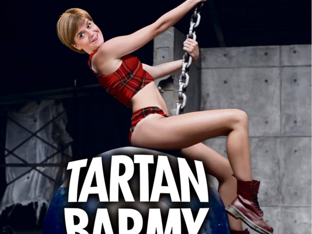 Nicola Sturgeon accuses The Sun of sexism over Miley Cyrus poster