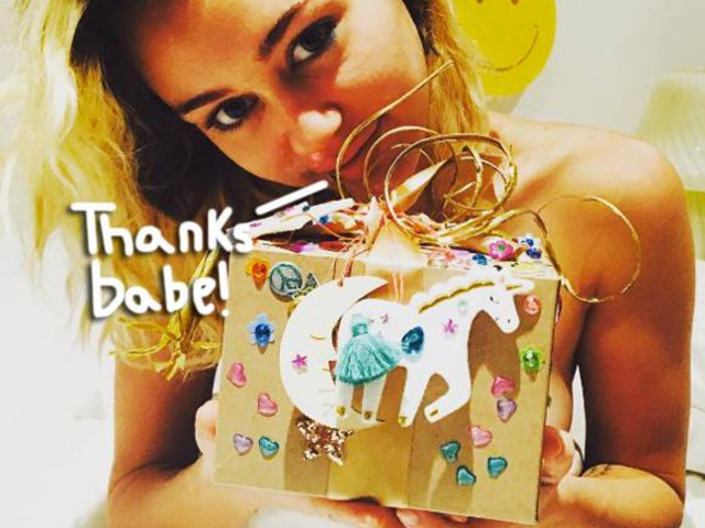 Liam Hemsworth Pulls Out All Of The Stops For Miley Cyrus' Birthday — See The Pic Proof!