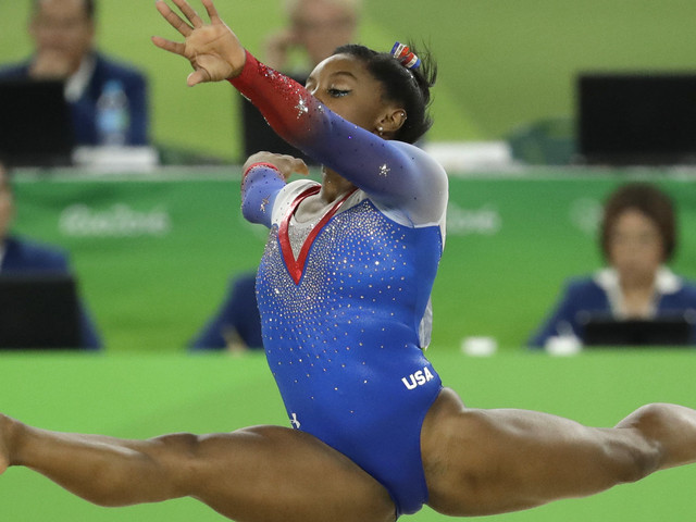 Superstar Simone Biles Wins Her Fourth Gold Medal And Makes History